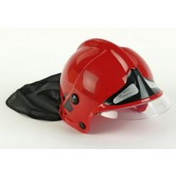 Přilba hasičská dětská červená
