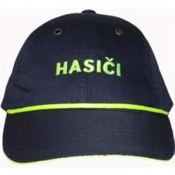 Čepice kšiltovka s nápisem Hasiči vč. reflex lemu a šňůrky (dle vyhlášky) DĚTSKÁ