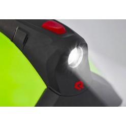 Svítilna integrovaná LED pro přilbu HEros - titan