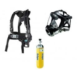 Set dýchací přístroj PSS4000 (nosič, maska - náhl. kříž, láhev)